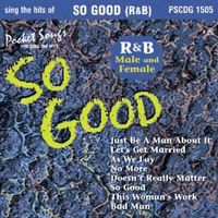 SO GOOD R&B MALE & FEMALE        Pocket Songs       PS1505