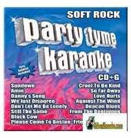SOFT ROCK    Party Tyme Karaoke   SYB 1071