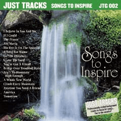 SONGS TO INSPIRE    Pocket Songs Just Tracks      JTG002
