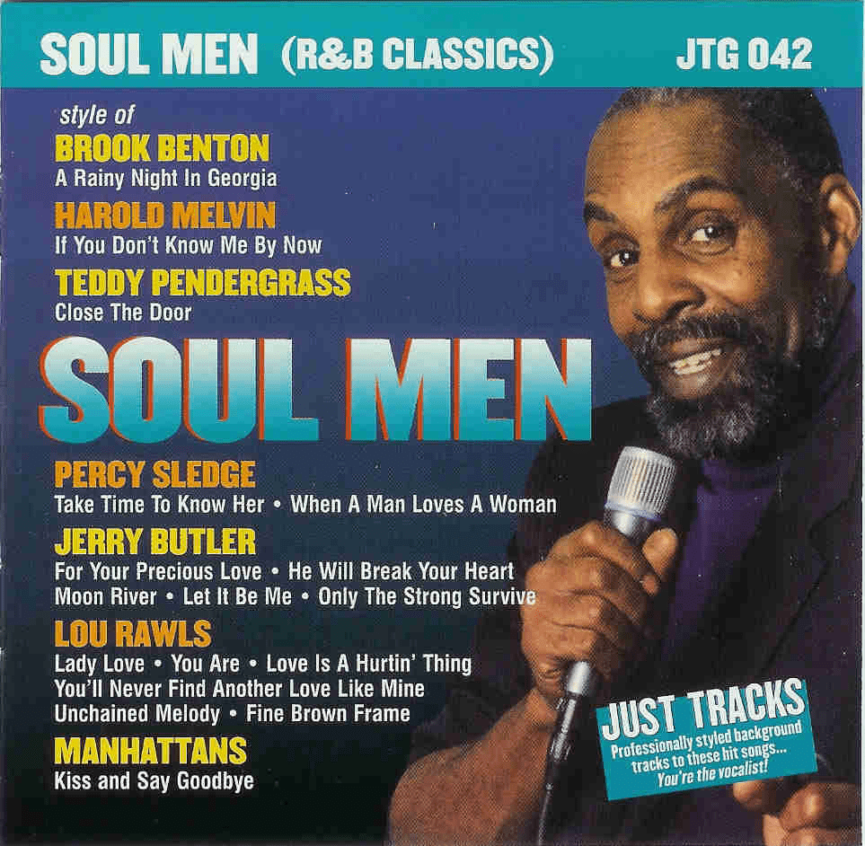 SOUL MEN (R&B CLASSICS)     Pocket Songs    JTG042