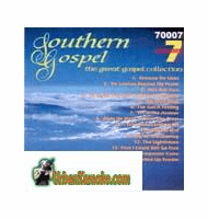 SOUTHERN GOSPEL  Vol.6  Charbuster Gospel Collection  CB 70007