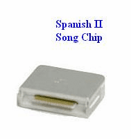 SPANISH II  Song Chip  (SP-01)  Magic Mic  1,573 Songs