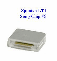 SPANISH LT1 Song Chip #5         Magic Mic      144 Songs