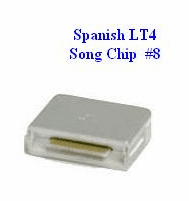 SPANISH LT4 Song Chip #8         Magic Mic        170 Songs