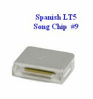 SPANISH LT5 Song Chip #9         Magic Mic        180 Songs