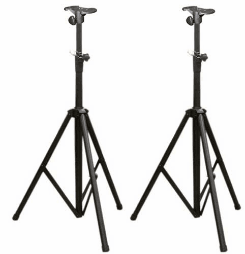 Speaker Stand Leader SPS410 Heavy Duty (Pair) with Mounting plate