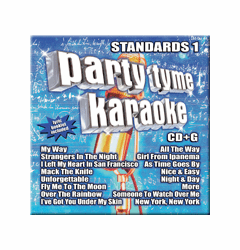 STANDARDS 1         PartyTyme Karaoke      SYB1046