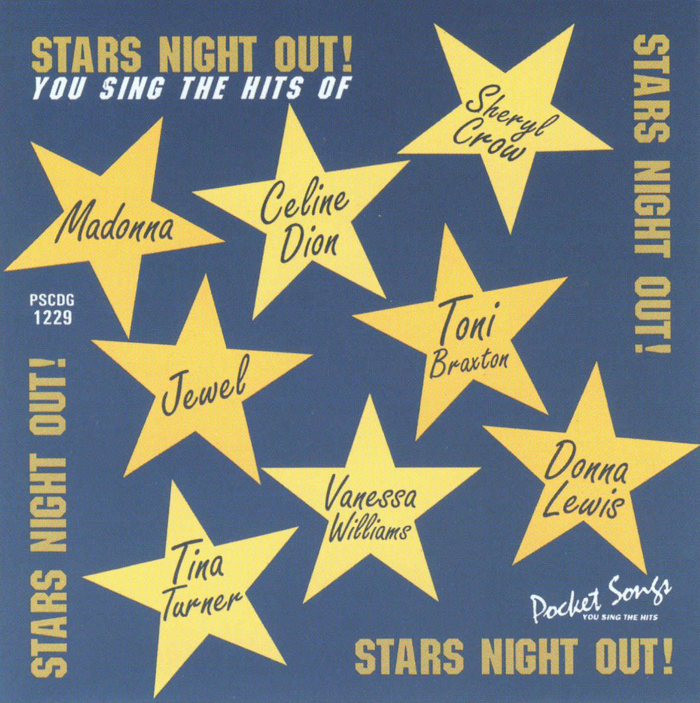 STARS NIGHT OUT     Pocket Songs     PS1229