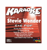 STEVIE WONDER    Chartbuster  6+6    CB40149