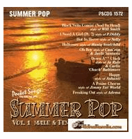 SUMMER POP Vol.1 MALE & FEMALE     Pocket Songs   PS1572
