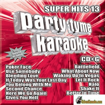 SUPER HITS 13    Party Tyme Karaoke   SYB1100