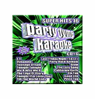 SUPER HITS 16       Party Tyme Karaoke      SYB 1108