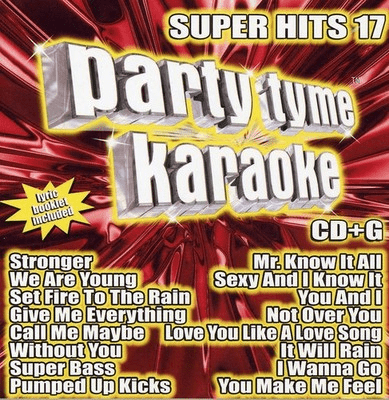 SUPER HITS 17       Party Tyme Karaoke     SYB 1109
