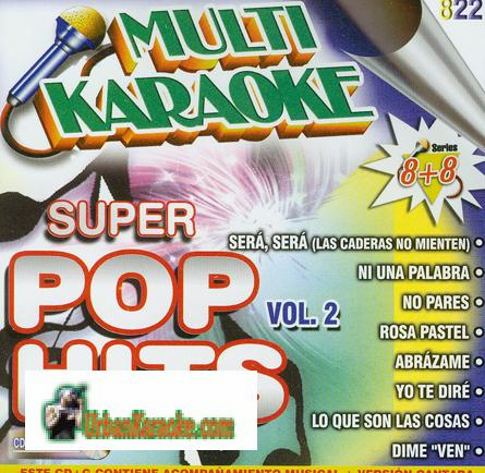 SUPER POP HITS VOL. 2  Multi karaoke  SMK822