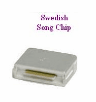 SWEDISH Song Chip            Magic Mic          131 Songs