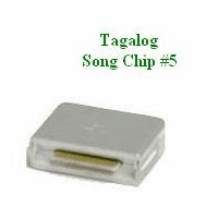 TAGALOG PHILIPPINO Song Chip #5      Magic Mic     500 Songs