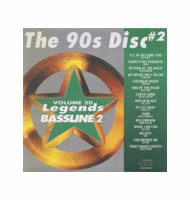 THE 90'S DISC #2   Vol. 20  Legends Bassline 2  LGB 20