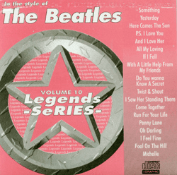 THE BEATLES        Legends Series     LG 10