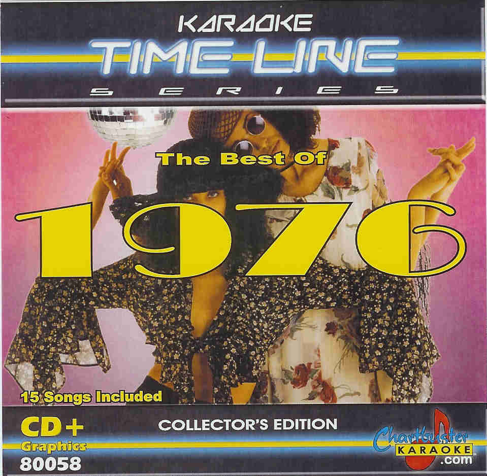 THE BEST OF 1976     Chartbuster Time Line Series    CB 80058