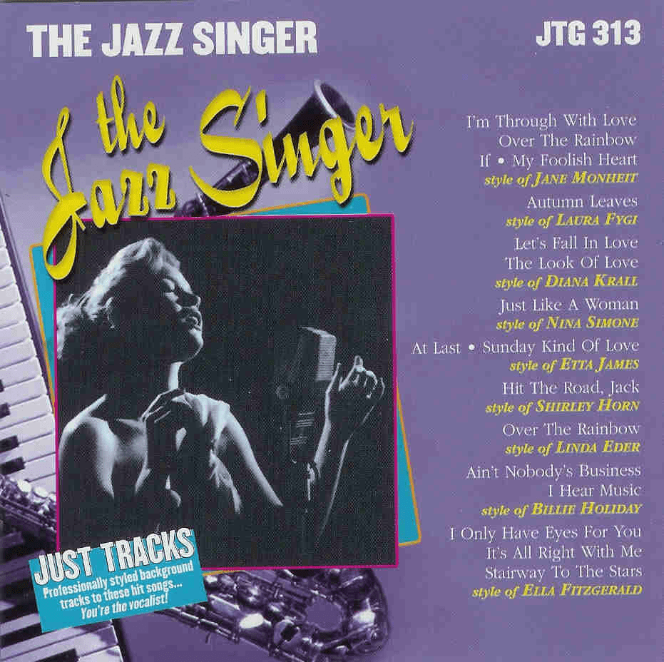 THE JAZZ SINGER   Just Tracks  JTG313