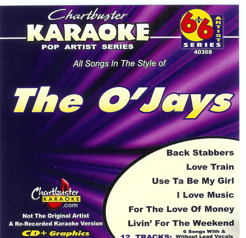 THE O'JAYS      Chartbuster  6+6    CB40368