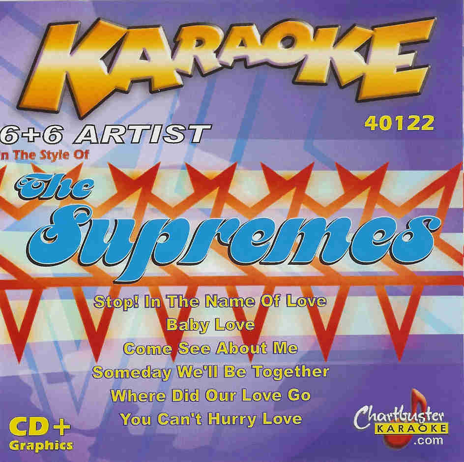 THE SUPREMES   Chartbuster 6+6    CB 40122