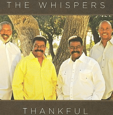 THE WHISPERS THANKFUL - Original CD