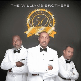 THE WILLIAMS BROTHERS CELEBRATING 50 YEARS - Original CD