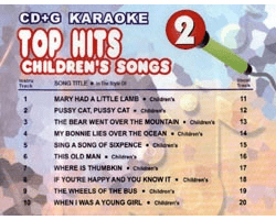 TOP HITS CHILDREN�S Vol. 2  U Best