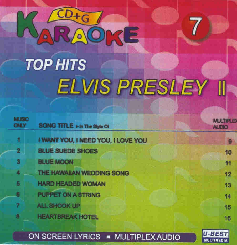 TOP HITS ELVIS PRESLEY II   Vol. 7