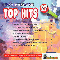 TOP HITS ENGLISH SONGS  27   UBest  CDGA 027