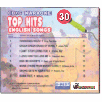TOP HITS ENGLISH SONGS 30  U Best  CDGA  030