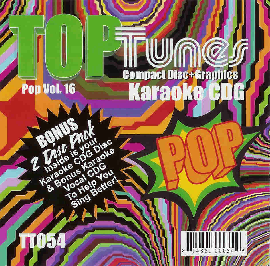 TOP TUNES POP VOL. 16     TT 054