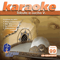 TRIBUTO A LUCHA V.  Vol. 99   Karaoke Box   KB 99
