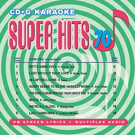 U-BEST  SUPER HITS Vol. 70     UBSH70