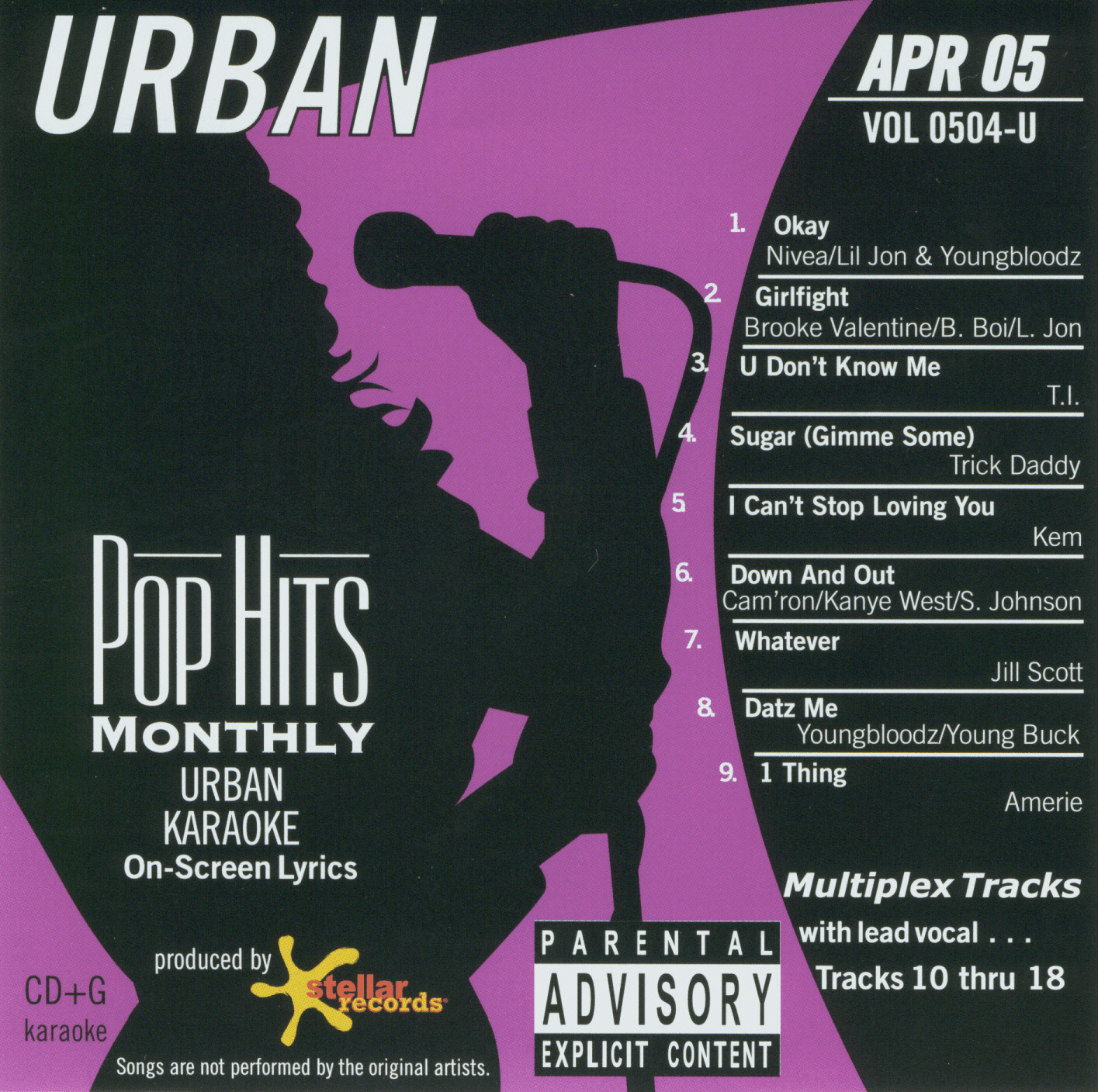 URBAN APR 2005    Pop Hits Monthly   0504
