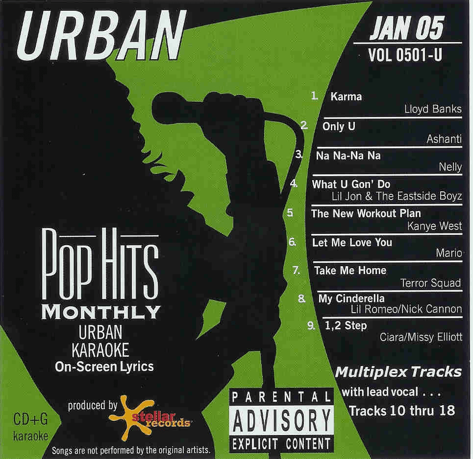 URBAN JANUARY 2005   Pop Hits Monthly   0501