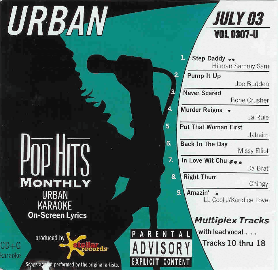 URBAN JULY 2003       Pop Hits Monthly      0307