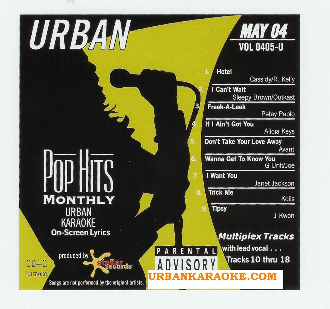 URBAN MAY 2004     Pop Hits Monthly