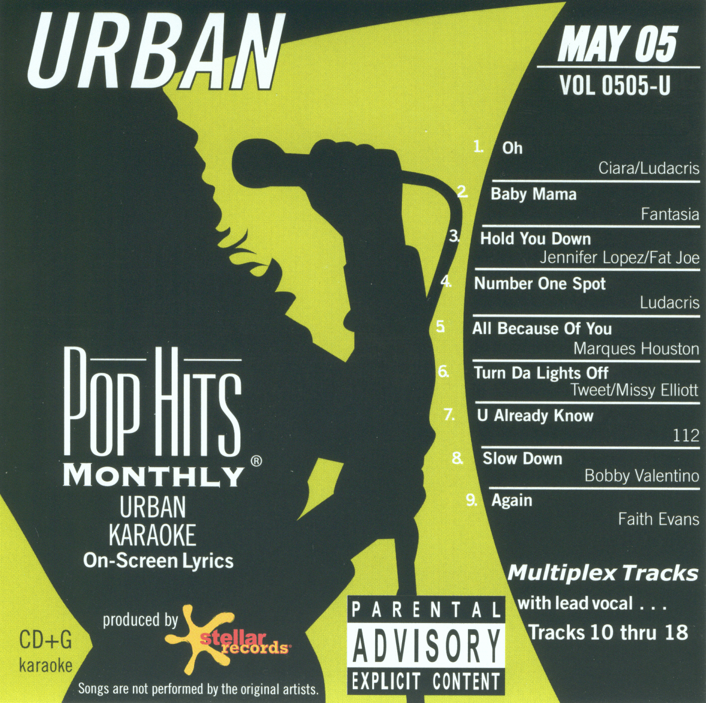 URBAN MAY 2005  Pop Hits Monthly  Vol.0505