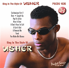 USHER    Pocket Songs     PS1636