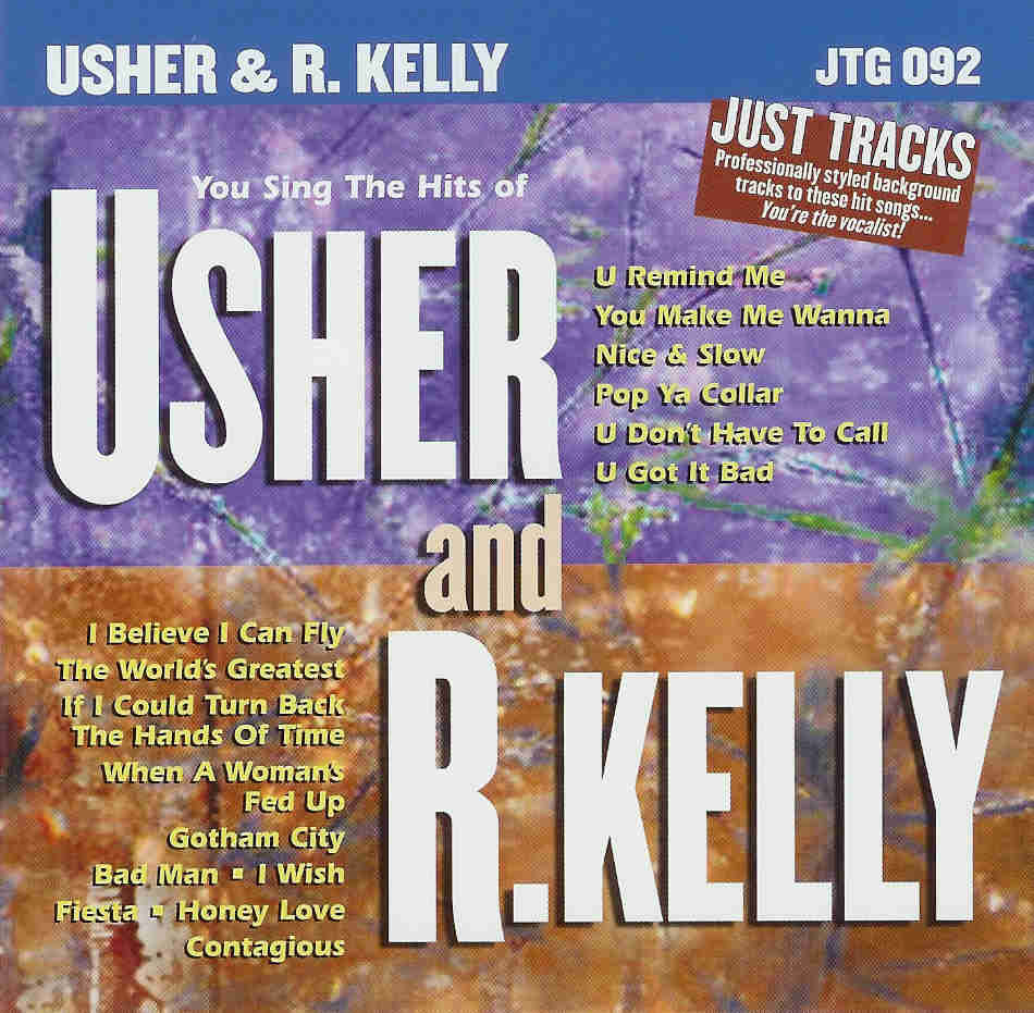USHER & R. KELLY    Just Tracks  JTG 092
