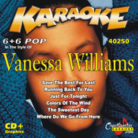 VANESSA WILLIAMS  Chartbuster 6+6  CB40250