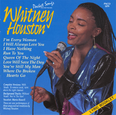 WHITNEY HOUSTON      Pocket Songs     PS1079