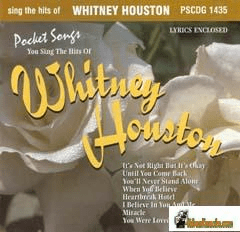 WHITNEY HOUSTON              Pocket Songs            PS1435