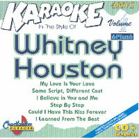 WHITNEY HOUSTON Vol.1    Charbuster 6+ 6  CB 40071