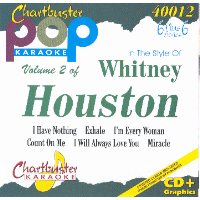 WHITNEY HOUSTON Vol. 2    Chartbuster  6+6   CB40012