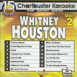 WHITNEY HOUSTON VOL 2    Chartbuster    CB90185