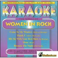 WOMEN OF ROCK     Karaoke     40715