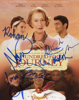 The Hundred-Foot Journey Signed 8x10 Photo - Video Proof